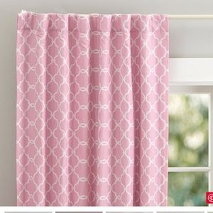 Pottery Barn Abigail Blackout Curtain Panel Pair